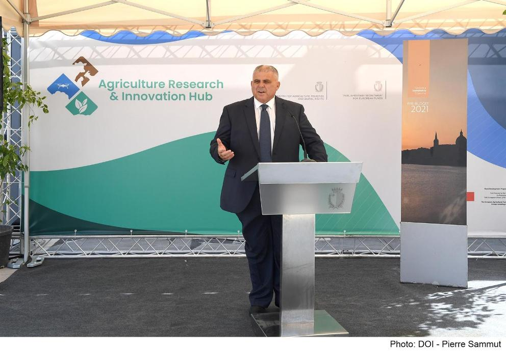 Jitħabbar il-proġett tal-AGRIHUB - The Agriculture Research and Innovation Hub